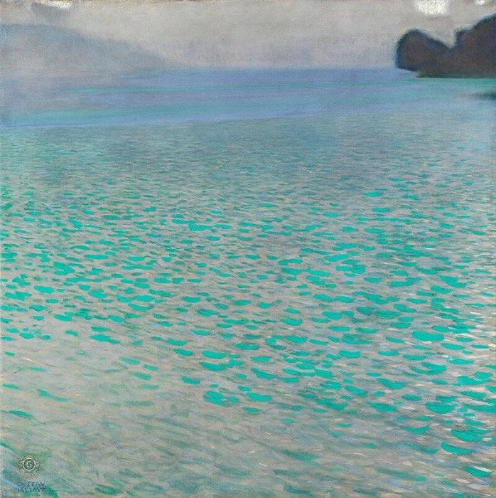 48c9dfd365f1efb5aa91adda4f806056  Attersee by Gustav Klimt,.jpg