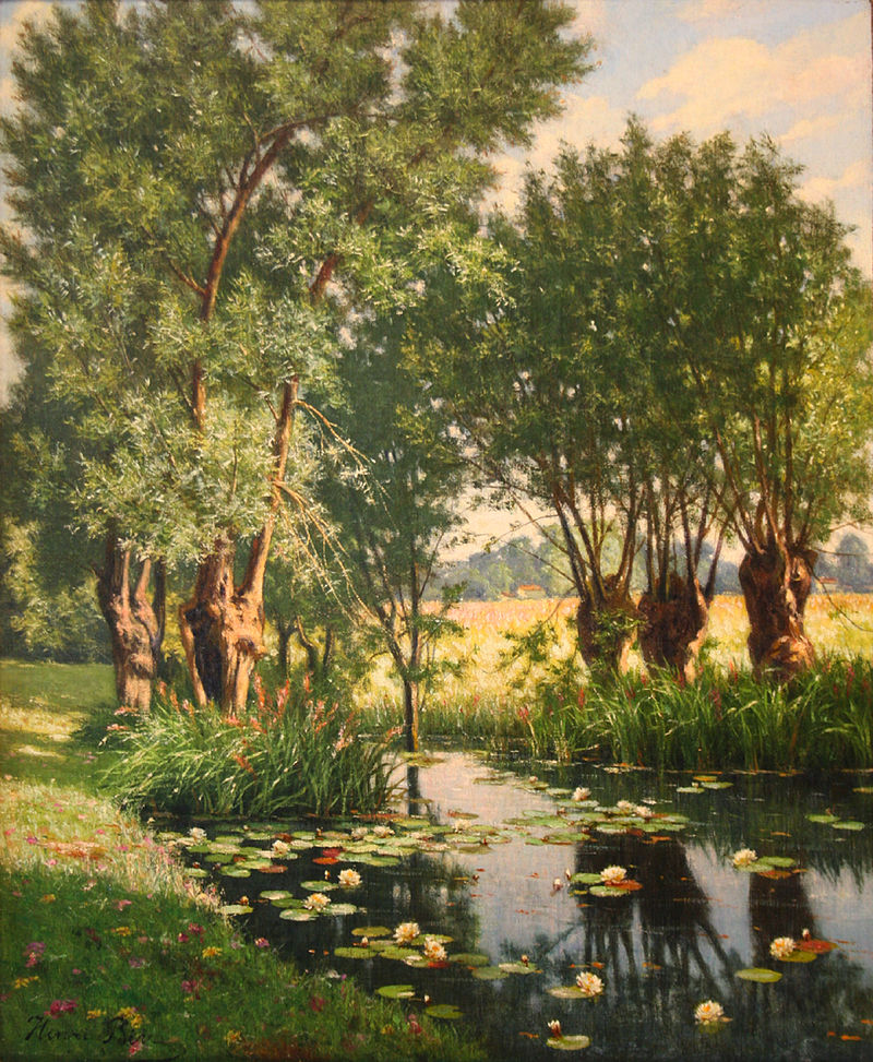 800px-Henri_Biva,_River_Scene_in_Spring,_France_(View_of_Willow_Trees_on_the_Bank_of_a_River_w...jpg