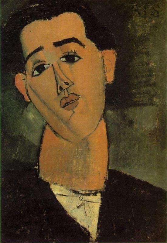 8f39e11ccb4370e24e78dc68236d43ef Juan Gris by Amedeo Modigliani, 1915..jpg