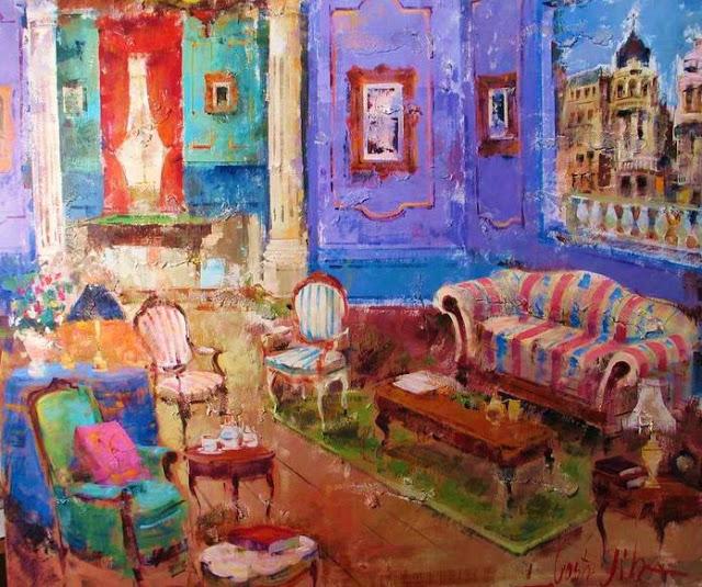 9Spanish Artist Costa Vila Interior.jpg