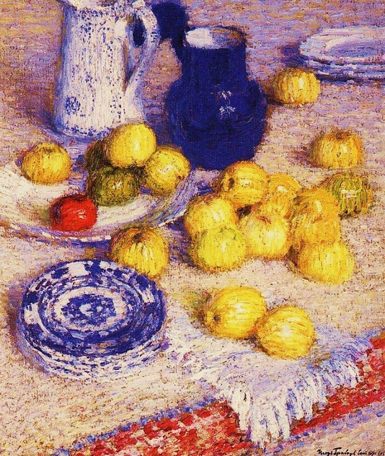 Apples 1905 Igor Grabar (1871-1960)  ruski post-impresionistički slikar,.jpg