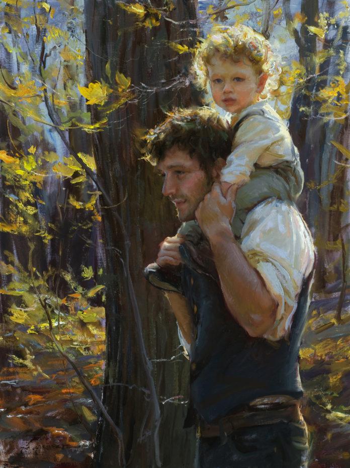 impressionistic-figure-painting-Daniel-Gerhartz-Golden-40-x-30-696x931.jpg