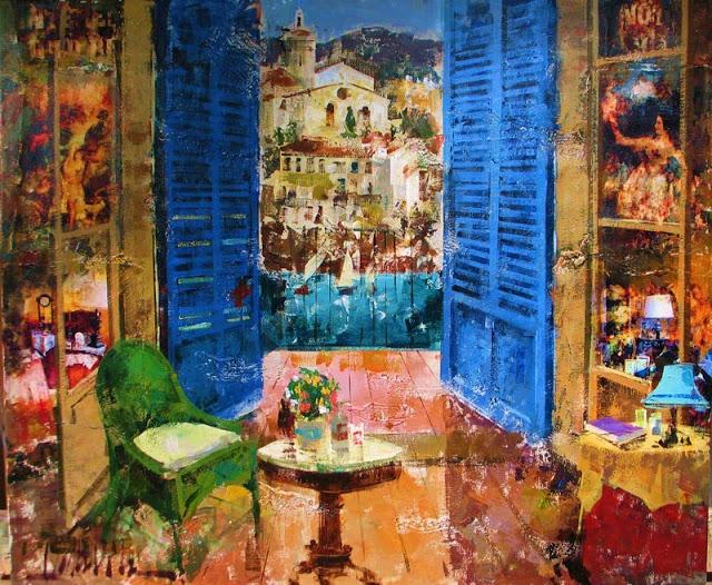 Interior CadaquesSpanish Artist Costa Vila Interior.jpg