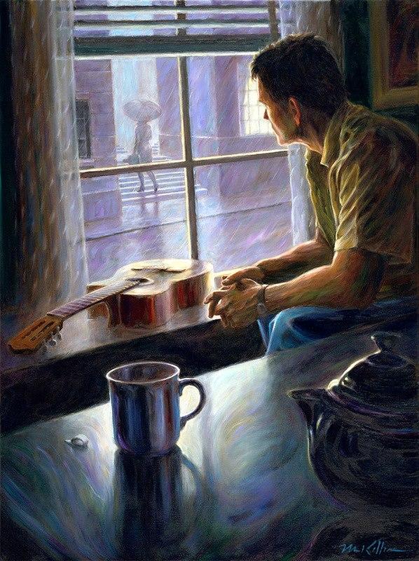 Mark Keller - American Figurative painter - Tutt'Art@ (11).jpg