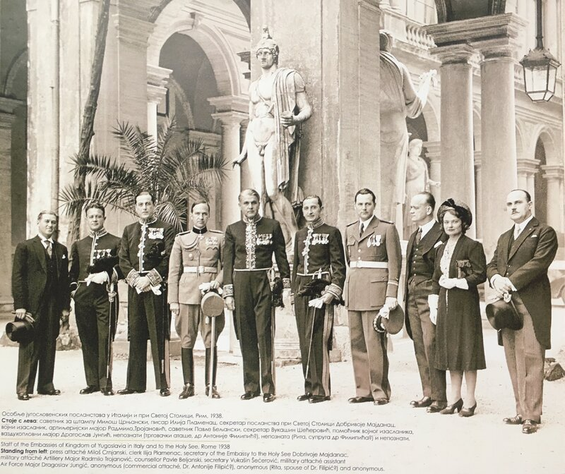 Miloš_Crnjanski_and_member_of_Yugoslav_embassy_in_Italy,_Rome,_1939.jpg