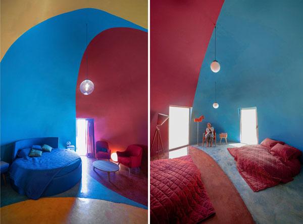Prisustvo-u-Hormozu-ZAV-Architects-šarene-kućice-Iran-ostrvske-kućice-plave-žute-crvene-kuće-s...jpg