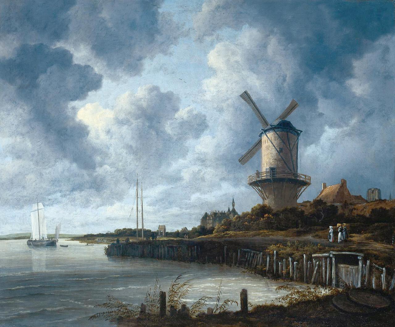 Ruysdael Jacob van - Windmill.jpg