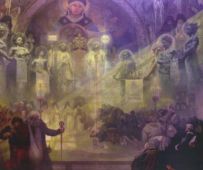 SCH_vd_M_Mucha_on_art7d_beAlfons Mucha, Holy mount Athos.jpg