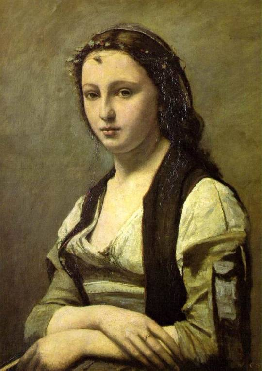 tumblr_pvia6k1VKD1w7dlp1o1_540The Woman with a Pearl, 1870, Camille Corot.jpg