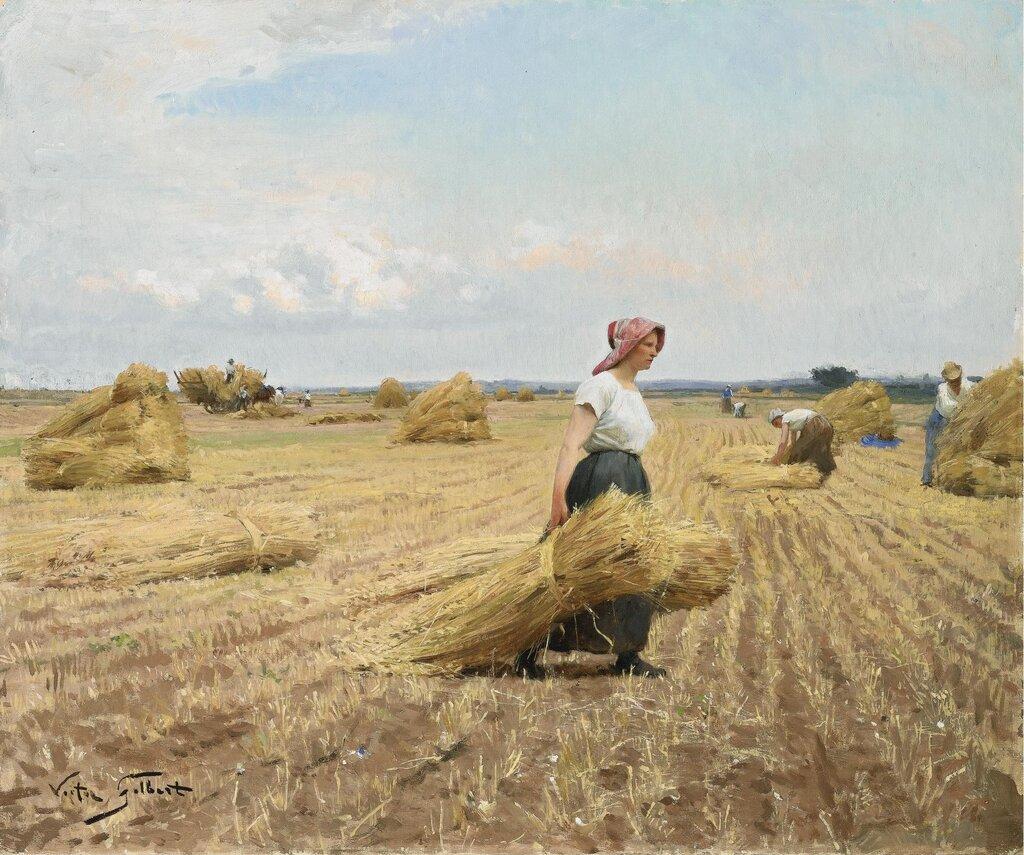 Victor_Gilbert_-_La_moisson-The Harvest.jpg