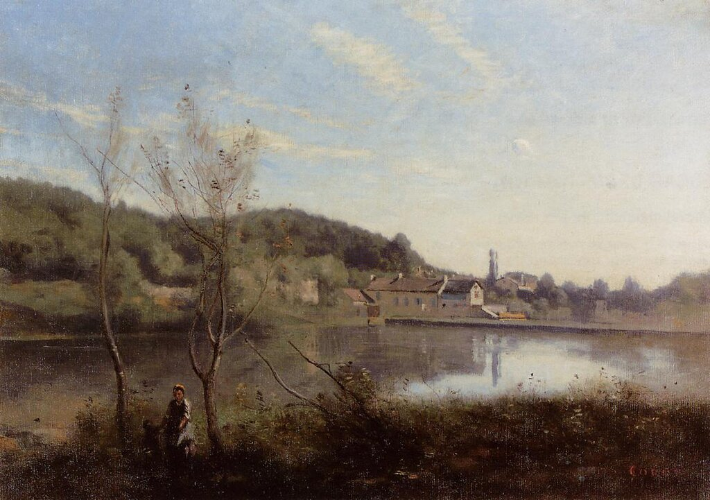 Ville-dAvray-the-Large-Pond-and-Villas-1850-1855-Jean-Baptiste-Corot-Oil-Painting (1).jpg